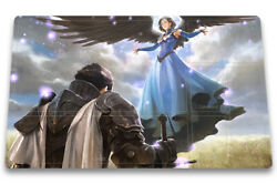 Restoration Angel - Board Game Mtg Duel Playmat Of Tcg With Card Zones Freebag