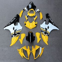 Fit For Yamaha Yzf R6 2006-2007 Abs Injection Fairing Bodywork Panel Kit Set New