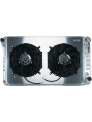 Cold Case Radiator And Fan 34 W X 18.6 H X 3 D Driver Side Inlet Gmt558ask