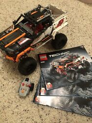 Lego Technic - 9398 - 4x4 Crawler Off Roader With Manual