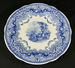 Spode Dinner Plate Blue Room Collection Continental Views