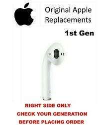 Genuine Apple Airpods 1st Generation Right Side Replacement Only A1523