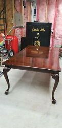 Dining Room Set Thomasville Flame Mahogany Chippendale Ball And Claw And Hutch