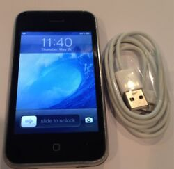 Iphone 3gs - 16gb- Black Excellent Condition Factory Unlocked Collector's Item