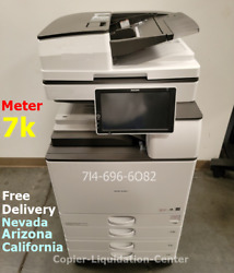 Ricoh Mp 3555 Black/white Copier Print Scan Meter Count Only 7k 2555 2055