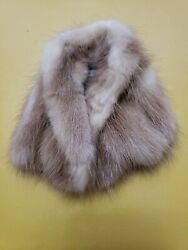 Vintage Barbie Real Mink Coat Mattel 1960and039s Sears Mint Condition