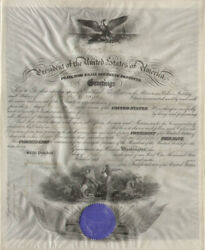 Woodrow Wilson - Naval Appointment Signed 01/25/1916 With Co-signers