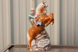 Vintage Happy Trails Roy Rogers Trigger 1995 Mc Me Products Cookie Jar
