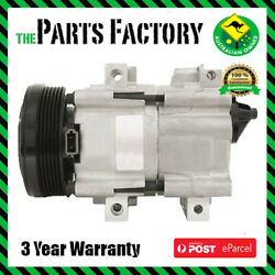 Ford Falcon Air Conditioner Compressor Pump For 1998-2003 6 Cyl And V8 Au 1 2 And 3
