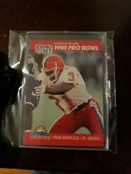 1990 Frank Minnifield And J.t. Smith Error Card 263 Extremely Rare 🔥🔥🔥🔥🔥