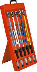 Preset Torque Wrench 15 Piece Set For Wheel Stud Service Tande Tools Fps515p