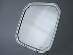 Antique Sterling Silver 12 Salver/tray -1939 By Viners