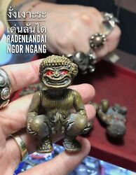 Ngor Ngang Arjarn O Thai Amulet Pendent Wealth Attract Charm Spell Talisman Love