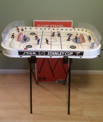 Stiga Rodwarriors Capitals Stanley Cup Hockey Game 3 Teams And Adjustable Stand