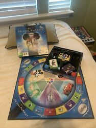 Disney For All Trivial Pursuit Hasbro Board Game COMPLETE Family Ages 8 A1 $30.00