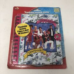 Disney High School Musical Friendship Yearbook Journal Activity And Stickers New