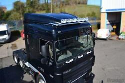Roof Light Bar + Leds + Spots + Beacons For Daf Xf 105 Space Truck Stainless