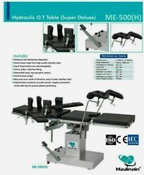 New Me -500 Hydraulic Ot Table Surgical Operation Theater Table Operating Table