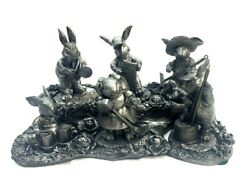 Michael Ricker Pewter Bunny Band Series