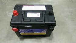 Ac Delco Factory Original Cadillac Car Battery Top And Side Post Oem Gm New