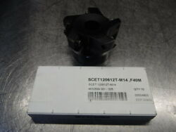 Seco 2.5 Indexable Facemill W/ Inserts R220.79-02.50-12a Loc1213a