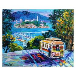 Yana Rafael City By The Bay Hand Signed Original Painting With Coa