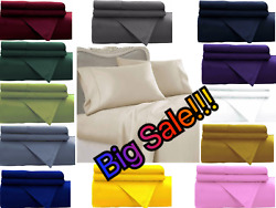 Empire Home Essentials Fitted Sheet All Colors All Sizes End of Year Sale