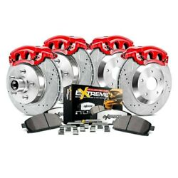 For Ford F-250 Super Duty 10-11 Brake Kit Power Stop 1-click Extreme Z36 Truck And