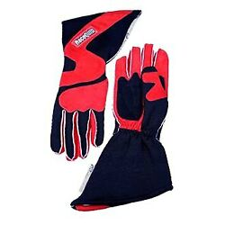 359 Series Red/black Nomex Outseam L Double Layer Race Gloves W Angle Cut