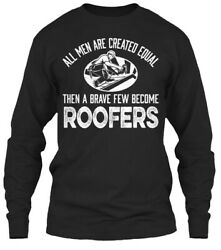 Teespring Shirts On Fire Brave Roofer Classic Long Sleeve Tee