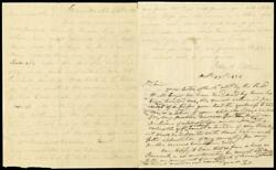 Andrew Jackson - Autograph Letter Signed 10/23/1826 Co-signed By John H. Eaton