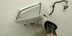 White Lh Side View Mirror Pm 21281013159799 Fits 15-17 Mercedes Cls550 W220 Oem