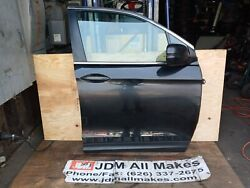17 18 19 Honda Pilot Front Right Door Assembly With Panel And Glass Side Mirror