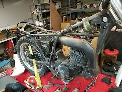 1976 Honda Mr250and039s Two Parts Bikes - Lots Of Parts Left
