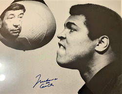 Muhammad Ali / Cassius Clay Autographed Photo With Howard Cosell - Guaranteed