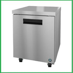 New Hoshizaki Crmf27 Commercial Series Undercounter Freezer 27wide