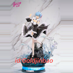 Relife In A Different World From Zero Rem Resin Model Painted 1/4 Scale Presale