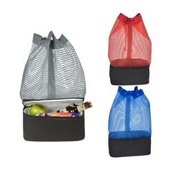 Backpack with a Beach Cooler high quality fabric seaside trip picnic or outdoor $17.00