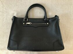 Rebecca Minkoff Black Satchel Very Good Condition  $59.99
