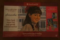 American Girl Samantha and Nellie Books and Magnetic Mini World NEW Magnets $48.99