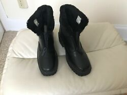 Totes Boots All Weather Faux Fur Lined Boots Size 6M Winter $30.00