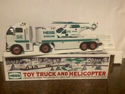 2006 Hess Truck And Helicopter New In Box - Mint Condition W/ Free Std Shipping