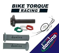 Domino Xm2 Quick Action Throttle Kits With A010 Grips To Fit Adiva Bikes