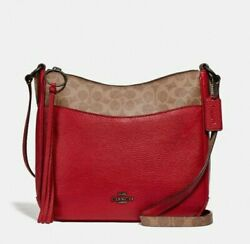 Coach Chaise Crossbody with Signature Canvas Blocking #76355...NWOT $110.00