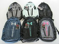 Under Armour UA Hustle 5.0 Storm Backpack 1361176 Nwt $40.00