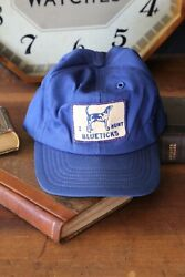 Vintage Hunting Hat Bluestick Coonhound Patch Usa Snapback Cap Dog Trapping