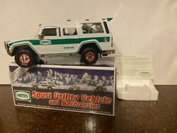 2004 Hess 40th Anniv. Truck And Motorcycles - Mint Condition W/ Free Std Ship