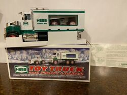 2008 Hess Toy Truck And Front End Loader - Mint Condition W/ Free Std Ship