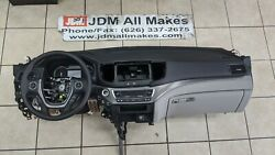 16 17 18 19 20 Honda Pilot Dashboard Dash Panel With Airb@g And Steering Wheel Oem