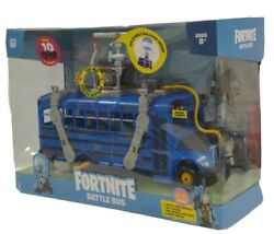 """Fortnite Battle Bus Deluxe Vehicle Features 4"""" Action Figure Inflatable Balloon"""